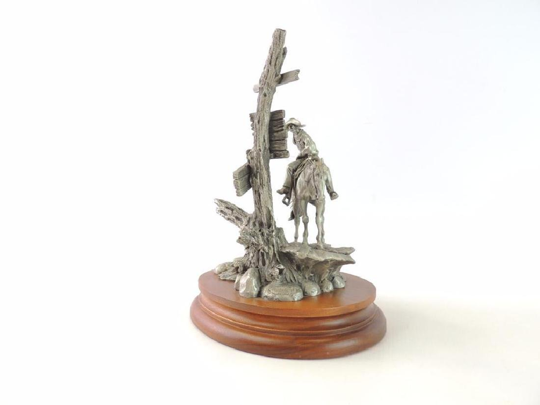 Chilmark Wanted by Polland Fine Pewter Statue - 2