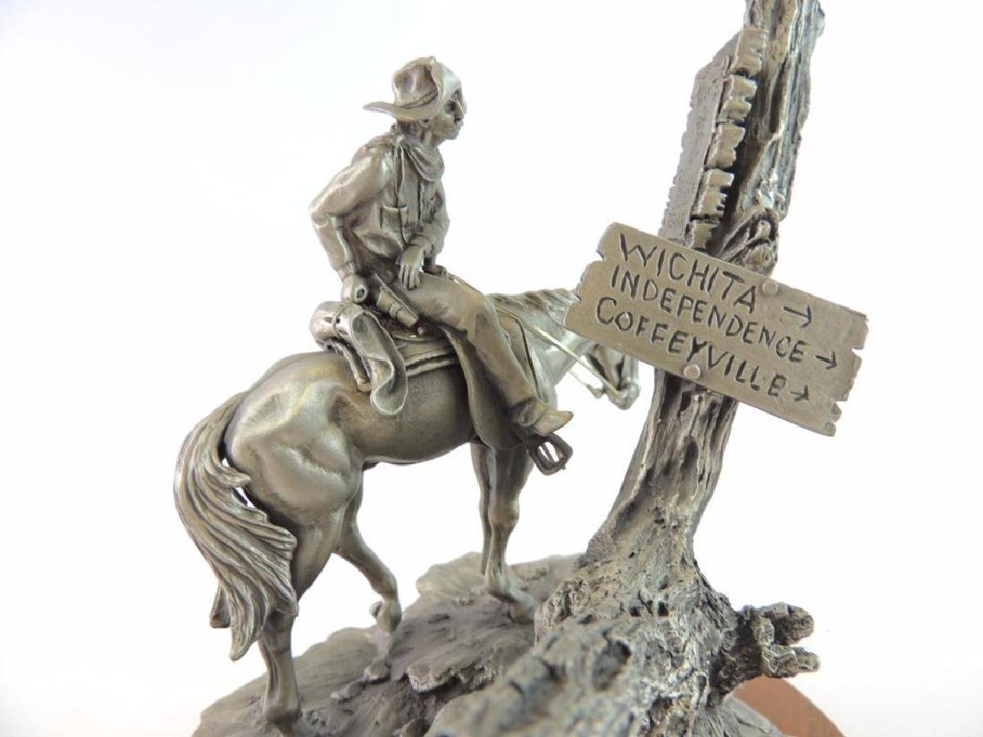 Chilmark Wanted by Polland Fine Pewter Statue - 8