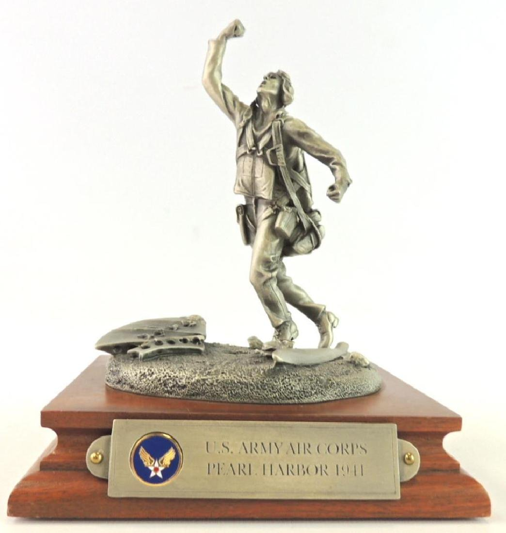 Chilmark U.S. Army Corps Pearl Harbor 1941 Pewter
