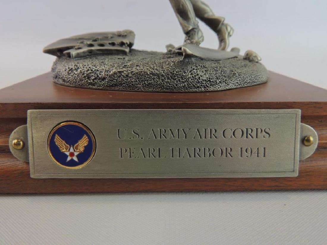 Chilmark U.S. Army Corps Pearl Harbor 1941 Pewter - 8