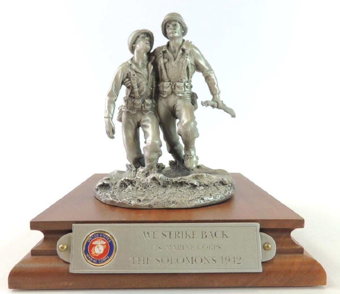 Chilmark We Stike Back U.S. Marine Corps. The Solomons