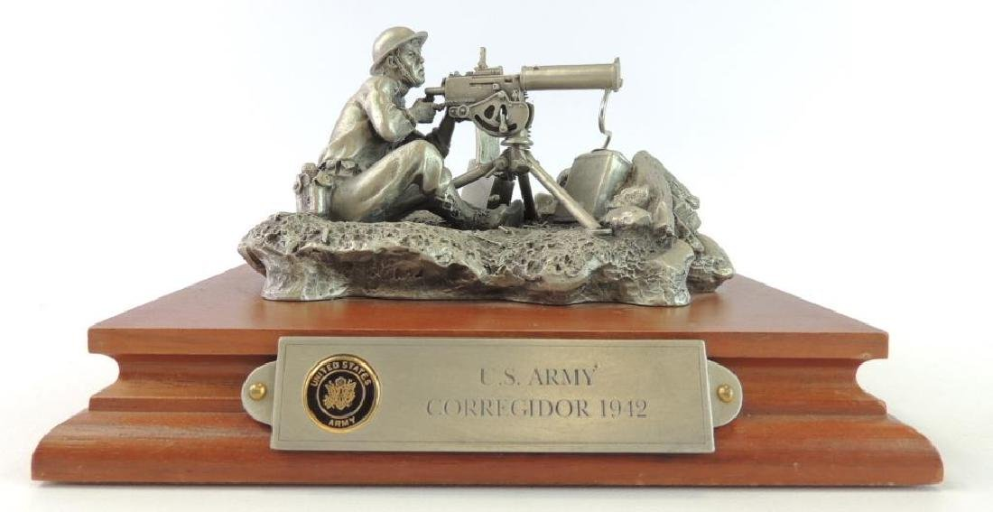 Chilmark U.S. Army Corregidor 1942 by LaRossa Pewter