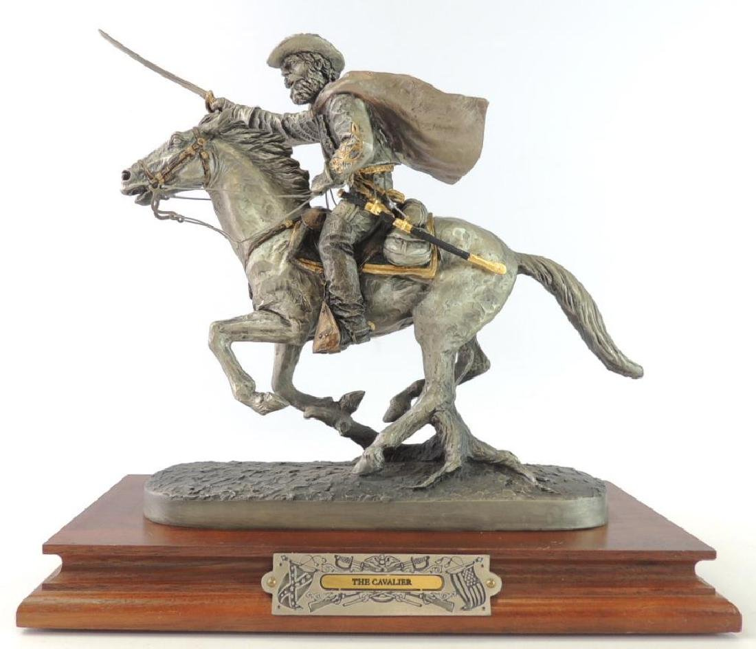 Chilmark The Cavalier by J.J. Barnum Fine Pewter Statue