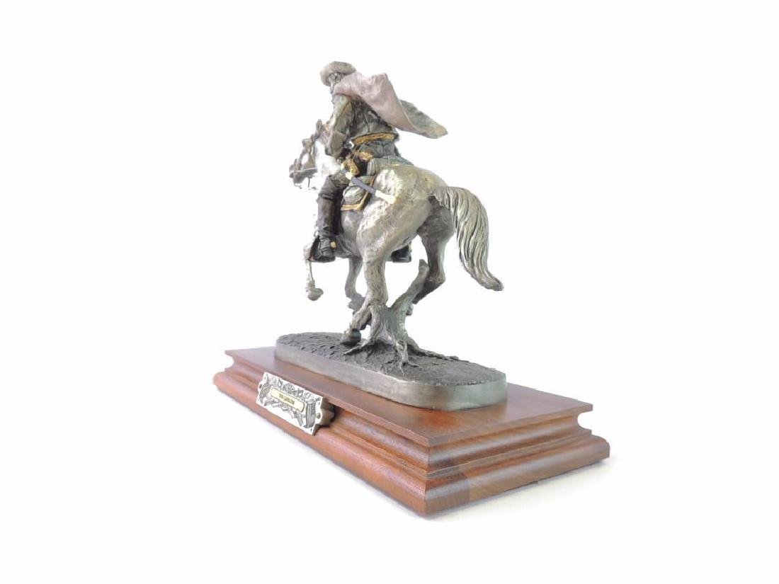 Chilmark The Cavalier by J.J. Barnum Fine Pewter Statue - 2