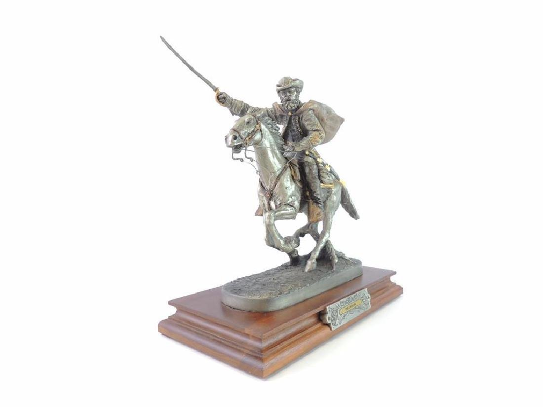 Chilmark The Cavalier by J.J. Barnum Fine Pewter Statue - 3