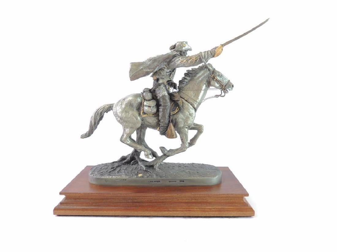 Chilmark The Cavalier by J.J. Barnum Fine Pewter Statue - 4