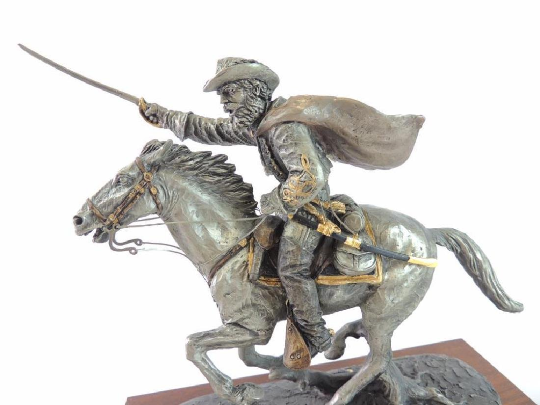 Chilmark The Cavalier by J.J. Barnum Fine Pewter Statue - 7