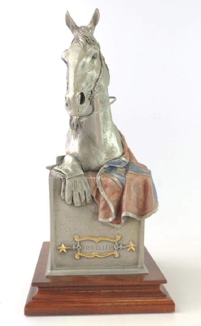 Chilmark Traveller by J.J. Barnum Fine Pewter Statue