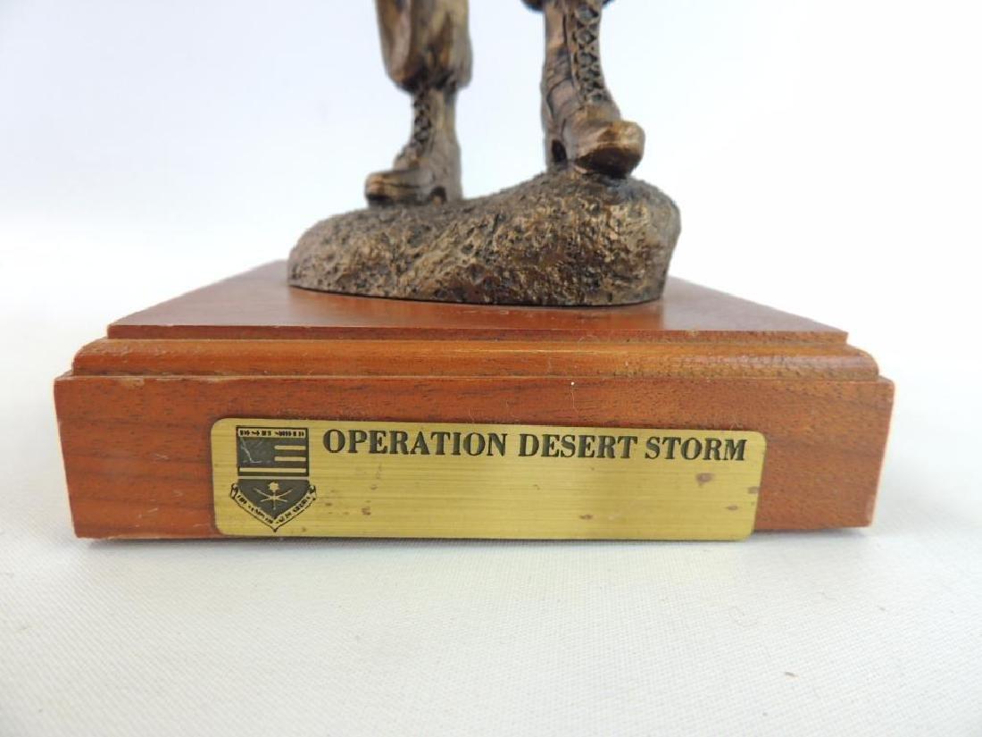 Operation Desert Storm by LaRossa Statue - 6