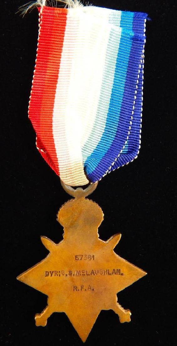 Group of 4 WWI Named British Medals - 10
