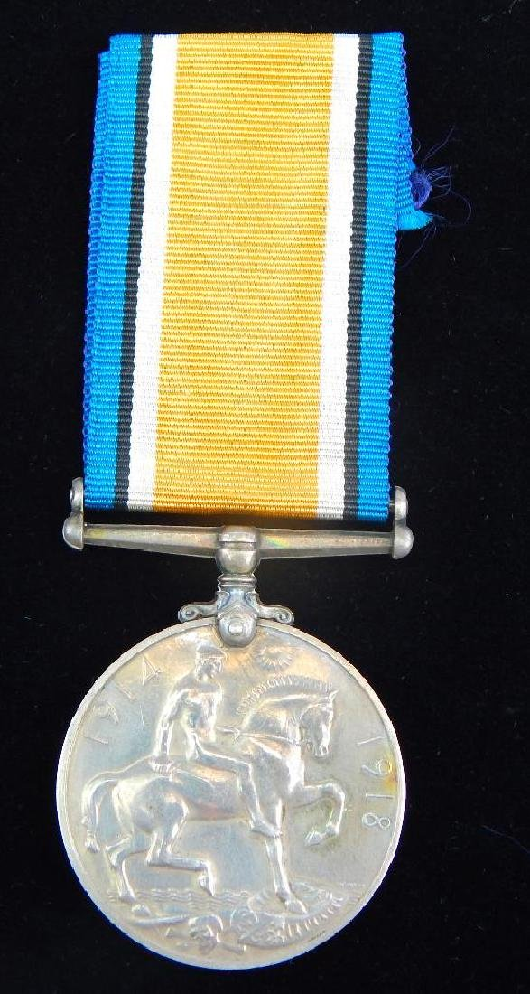 Group of 4 WWI Named British Medals - 4
