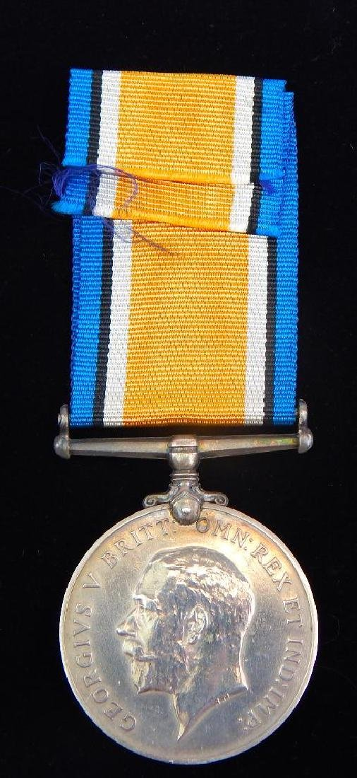 Group of 4 WWI Named British Medals - 5