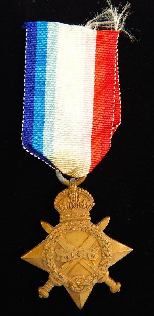 Group of 4 WWI Named British Medals - 9