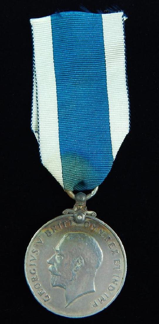 WWI British named Navy Long Service Medal