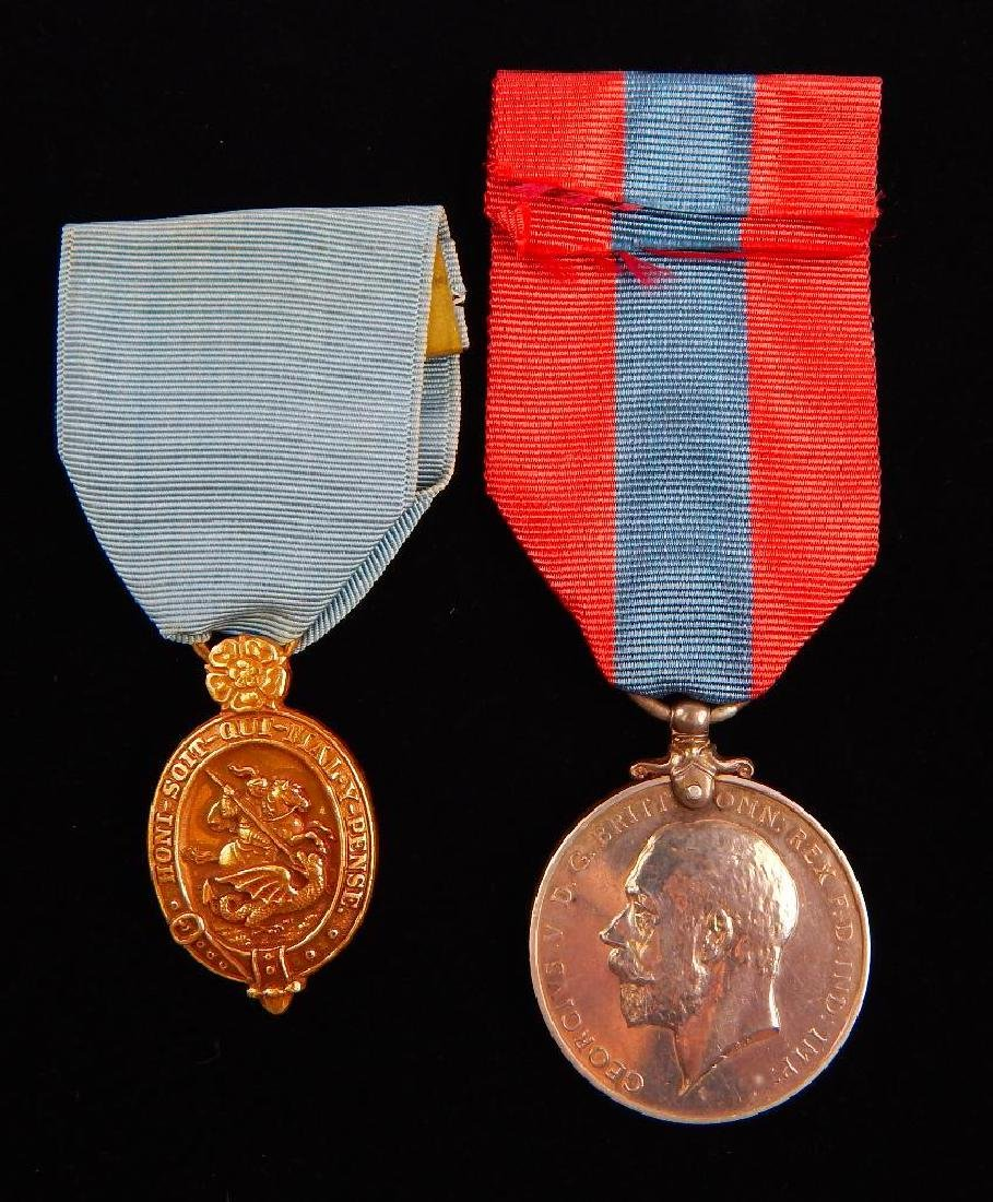British Named Faithful Service Medal and Other Medal