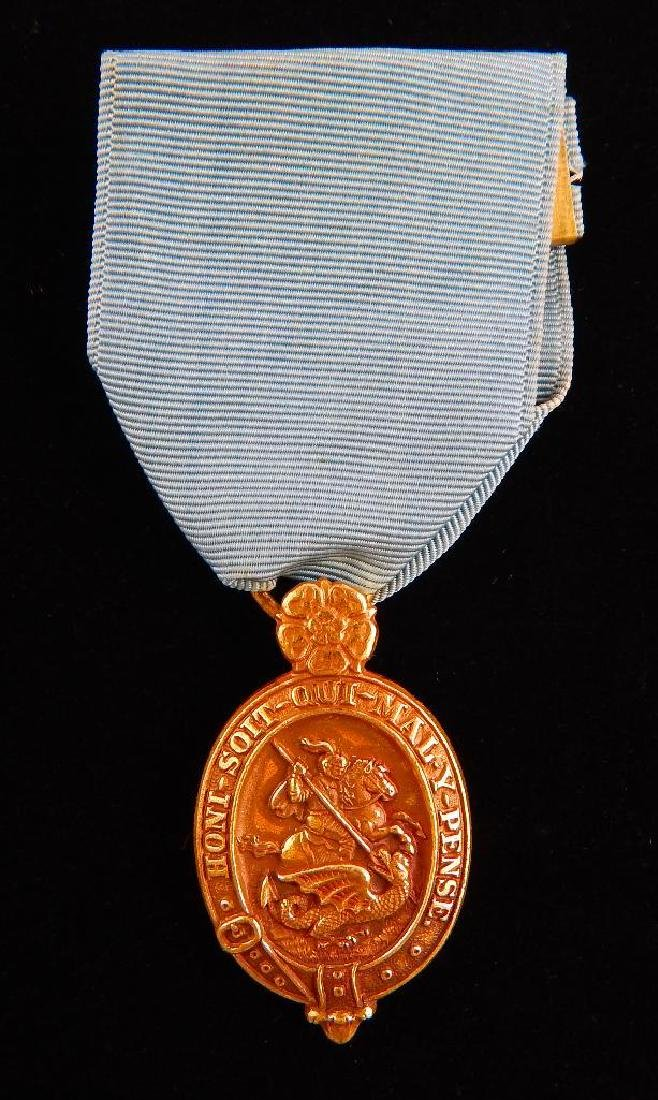 British Named Faithful Service Medal and Other Medal - 2