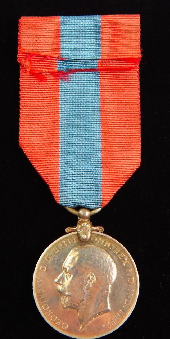 British Named Faithful Service Medal and Other Medal - 5