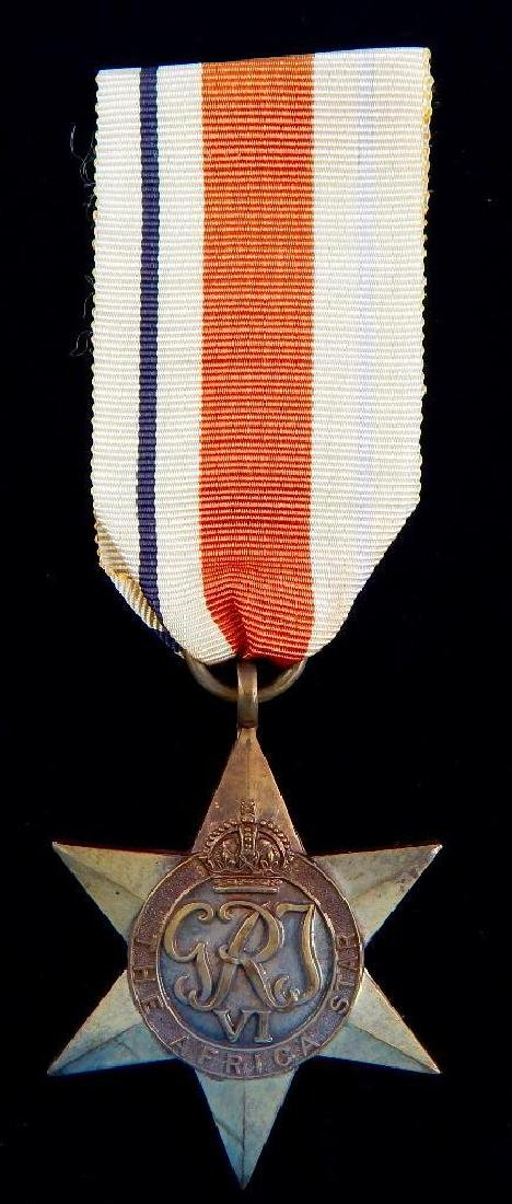 WW2 British Group of War Star Campaign Medals - 2
