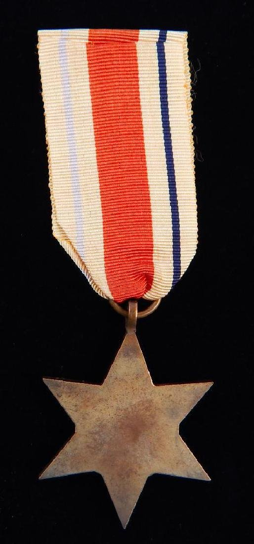 WW2 British Group of War Star Campaign Medals - 3