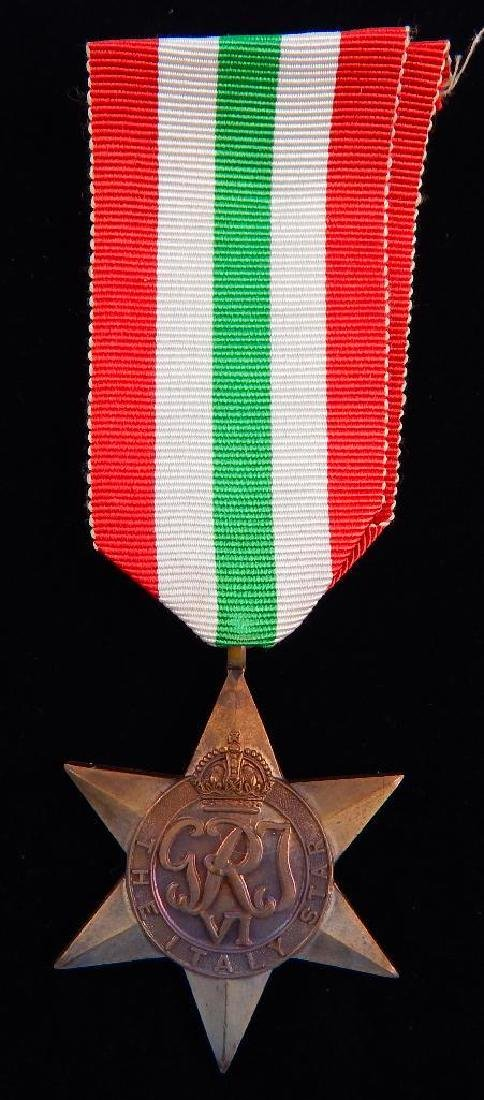 WW2 British Group of War Star Campaign Medals - 4
