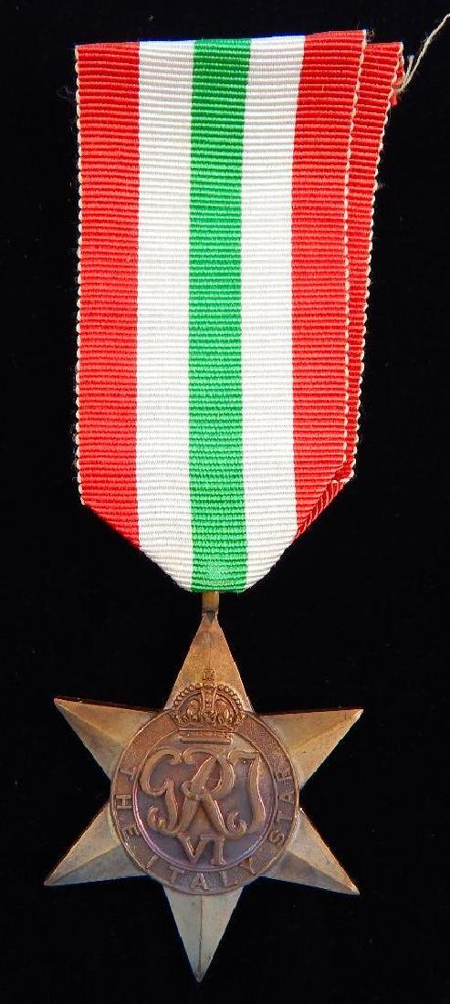 WW2 British Group of War Star Campaign Medals - 5