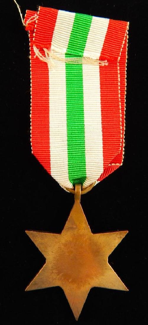WW2 British Group of War Star Campaign Medals - 6