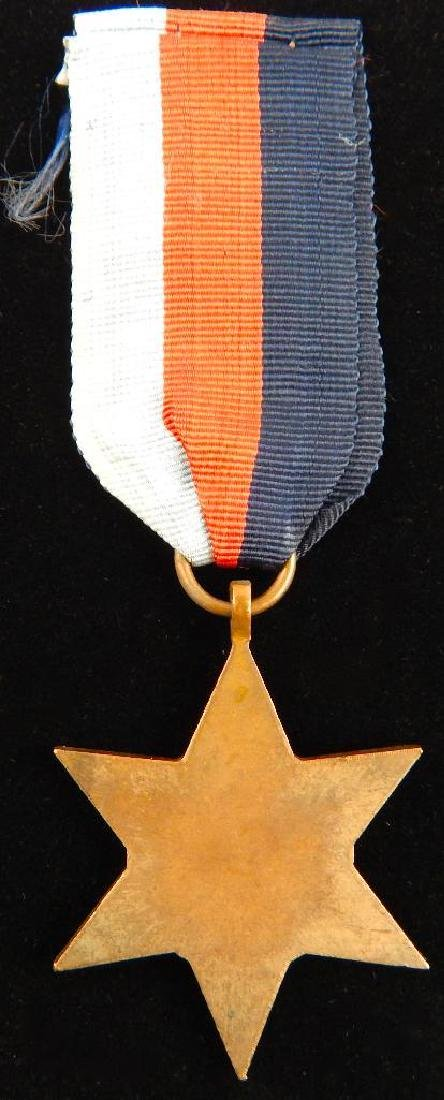 WW2 British Group of War Star Campaign Medals - 8