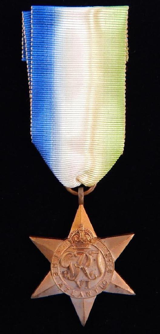 WW2 British Group of War Star Campaign Medals - 9