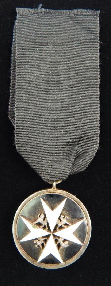 Group of 4 British St. Johns Ambulance Corps Medals - 8