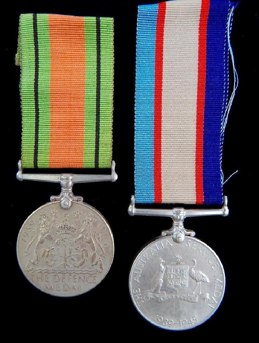 Group of 2 WW2 British Medals