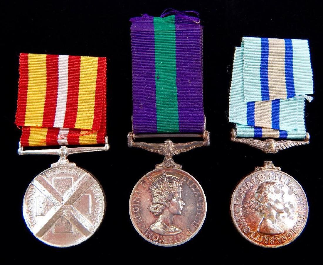 GRoup of 3 British Medals