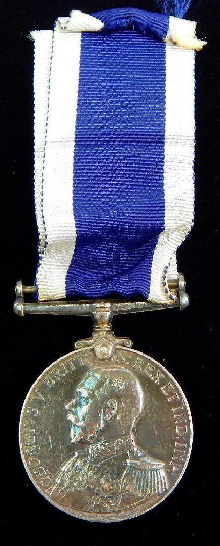 Named Navy Good Conduct Medalto HMS Columbine