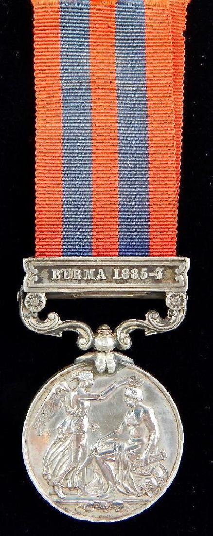1854-1895 India General Service Medal - 2