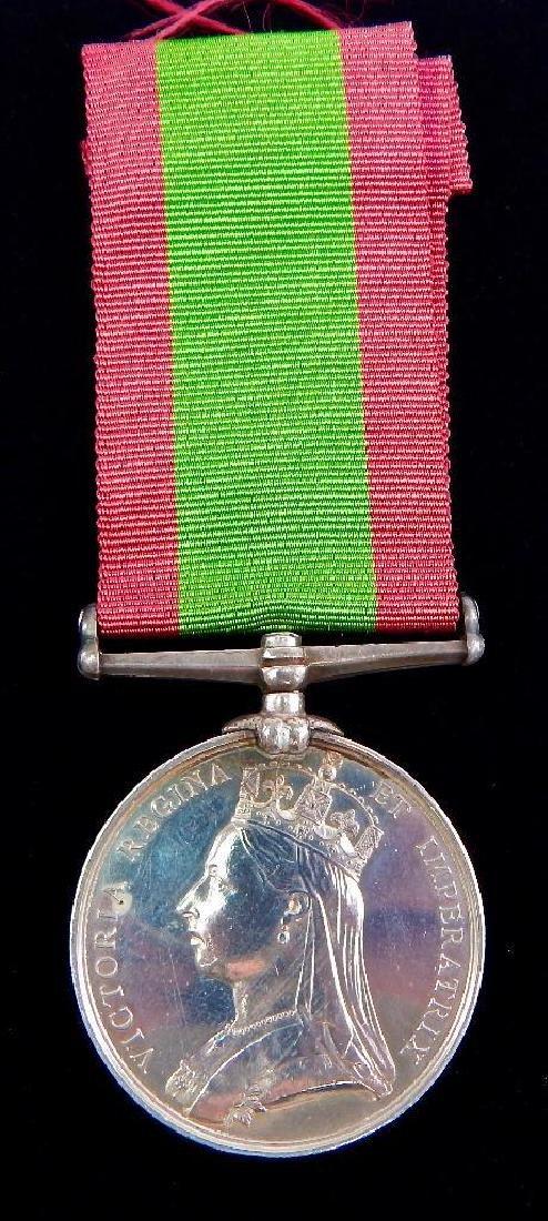 British Victorian Afghanistan Medal 1878-79-80