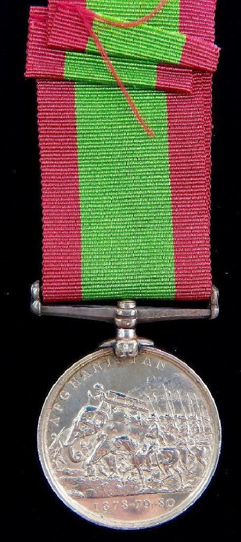 British Victorian Afghanistan Medal 1878-79-80 - 2