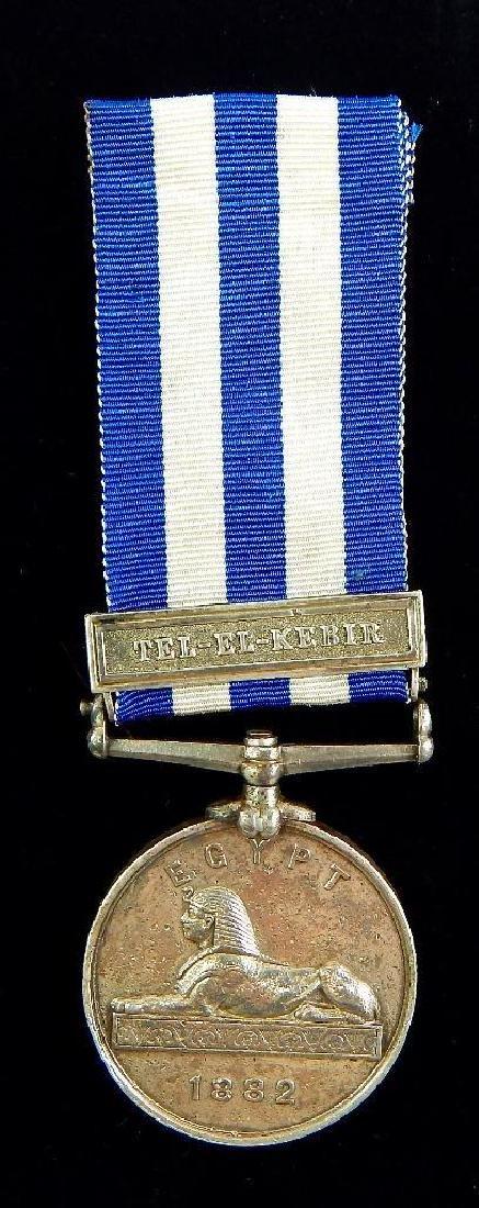 British Egypt Medal Royal Artillery