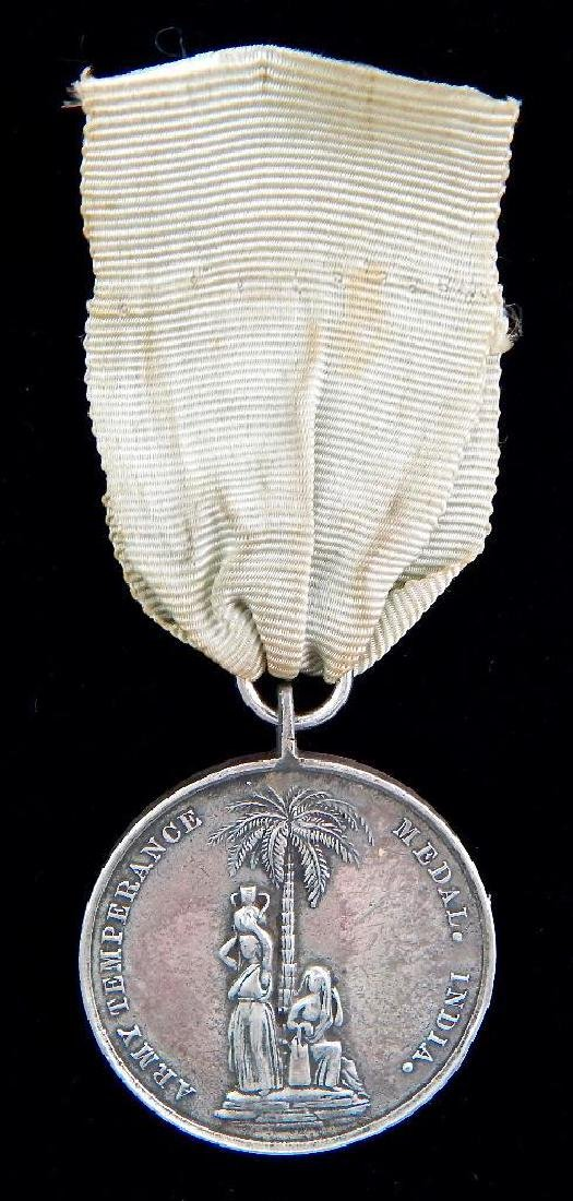 British Army Medal for India 1897 Army Temperance Assn.
