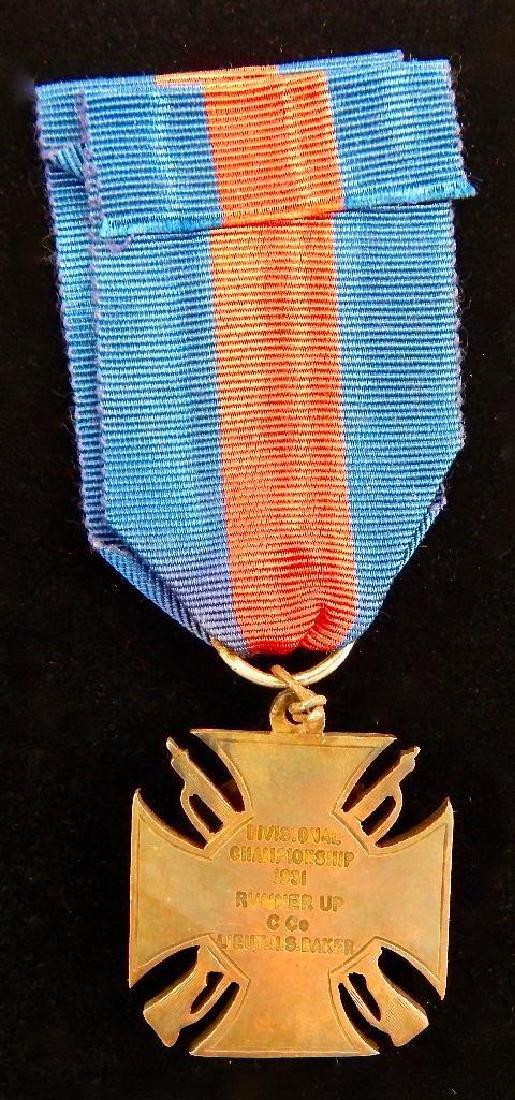 British Kent County Rifle Assn. Medal  1931 - 2
