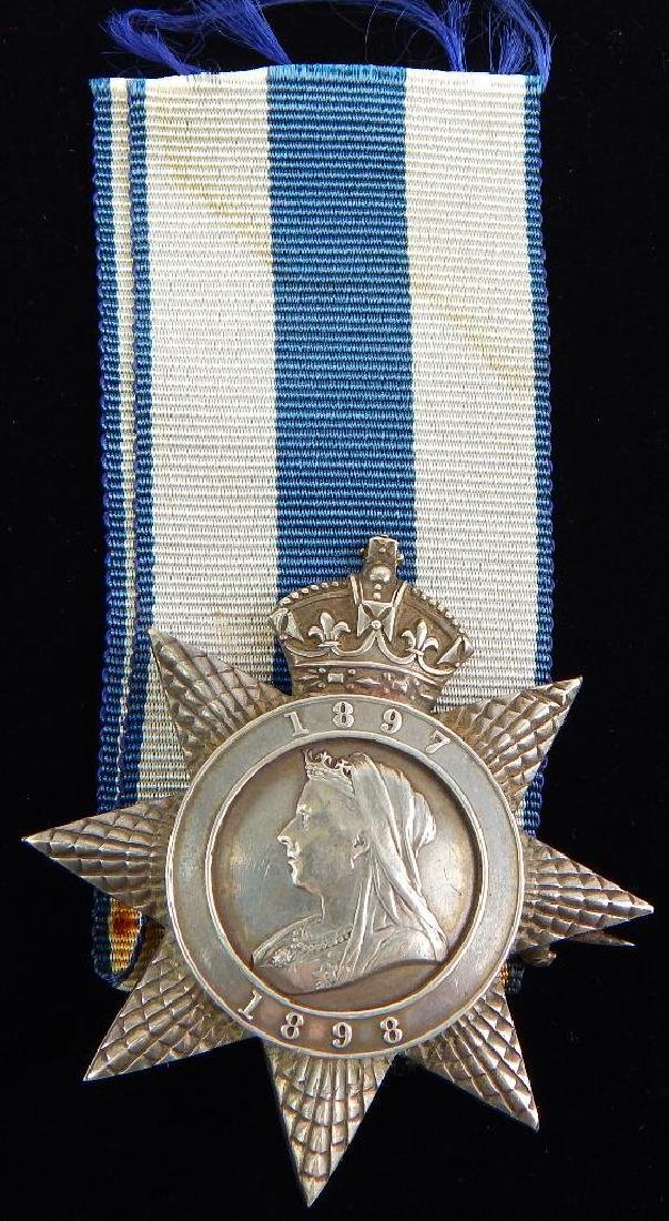 Exremely Rare Ugnada Star British Medal Awarded to