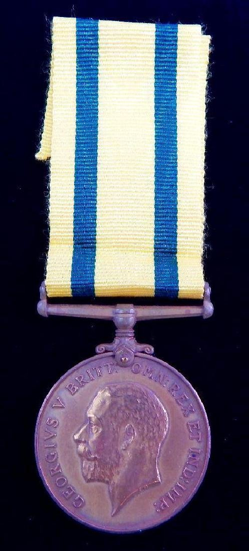 British WWI Territorial Medal for Overseas