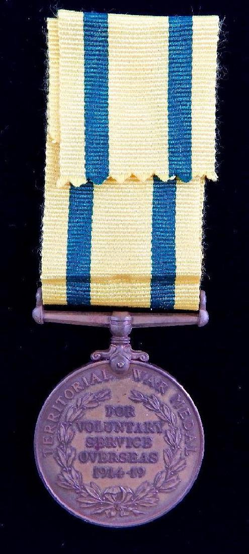 British WWI Territorial Medal for Overseas - 2