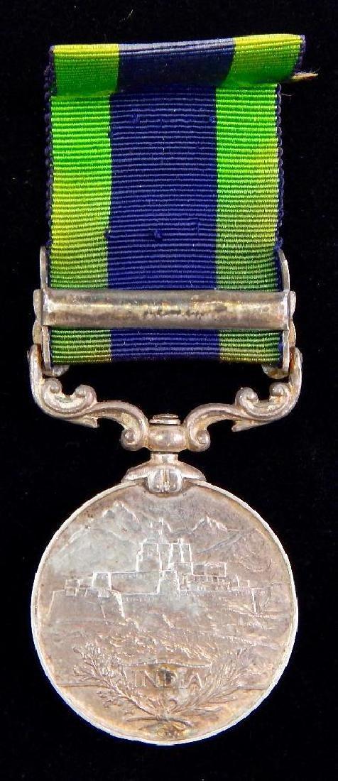 British India Service Medal - 2