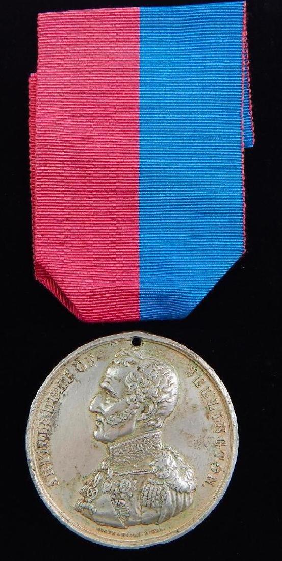 British Wellington Commemorative Medal