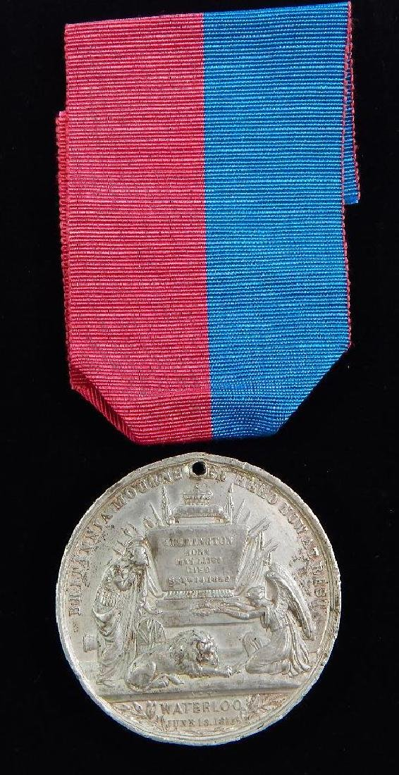 British Wellington Commemorative Medal - 2