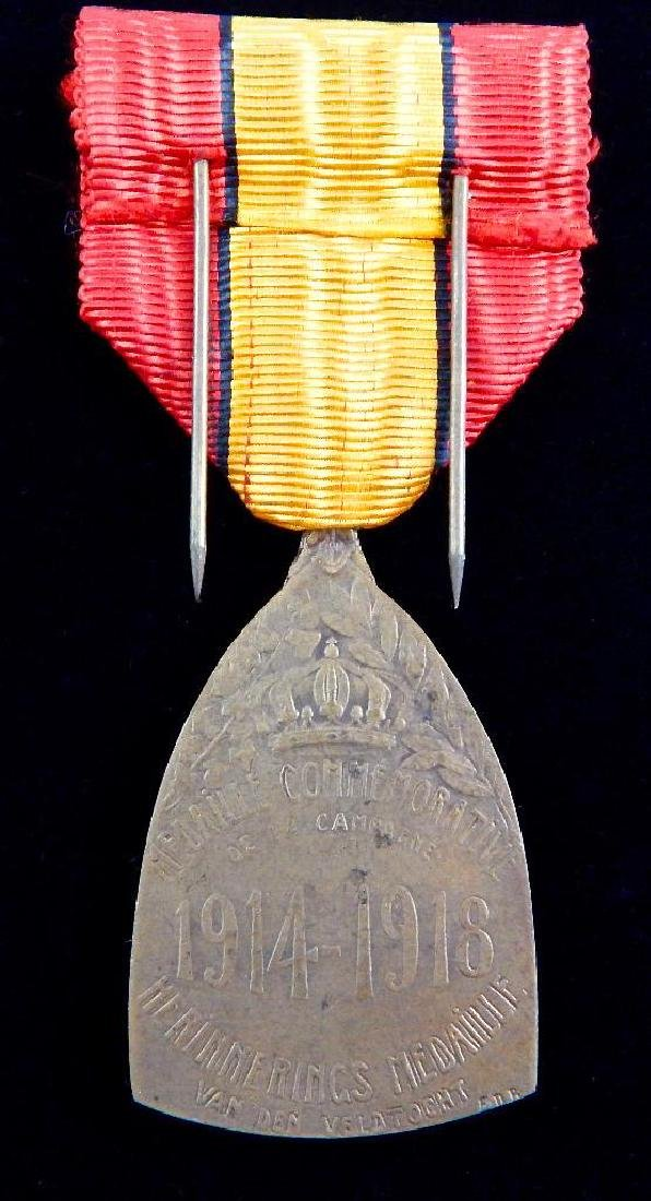 Group of 5 WWI - 1930's Belgian Medals - 10