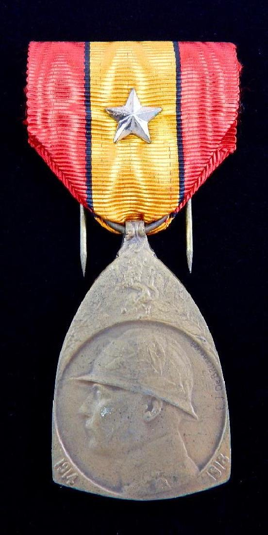 Group of 5 WWI - 1930's Belgian Medals - 9