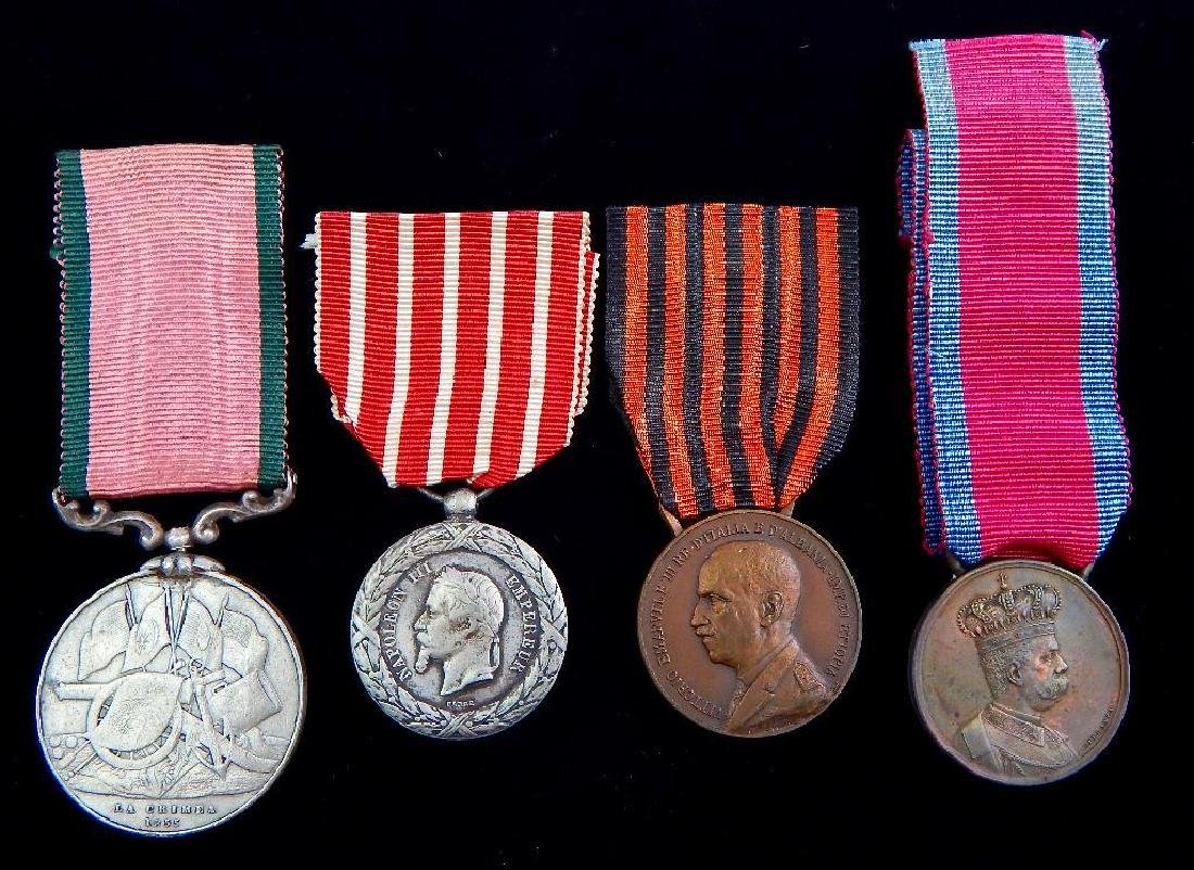 Group of 4 Pre-WW2 Italian Medals