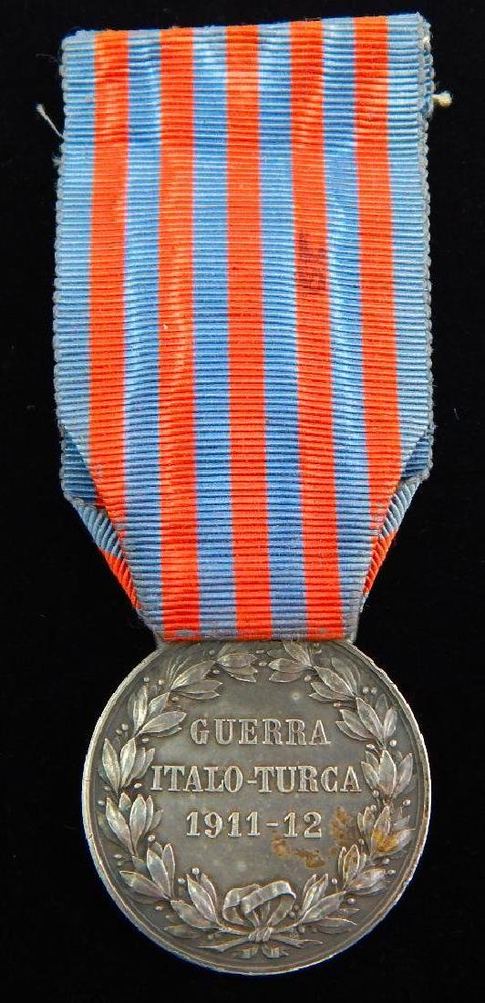 Group of 3 Pre-WW2 Italian Medals - 7