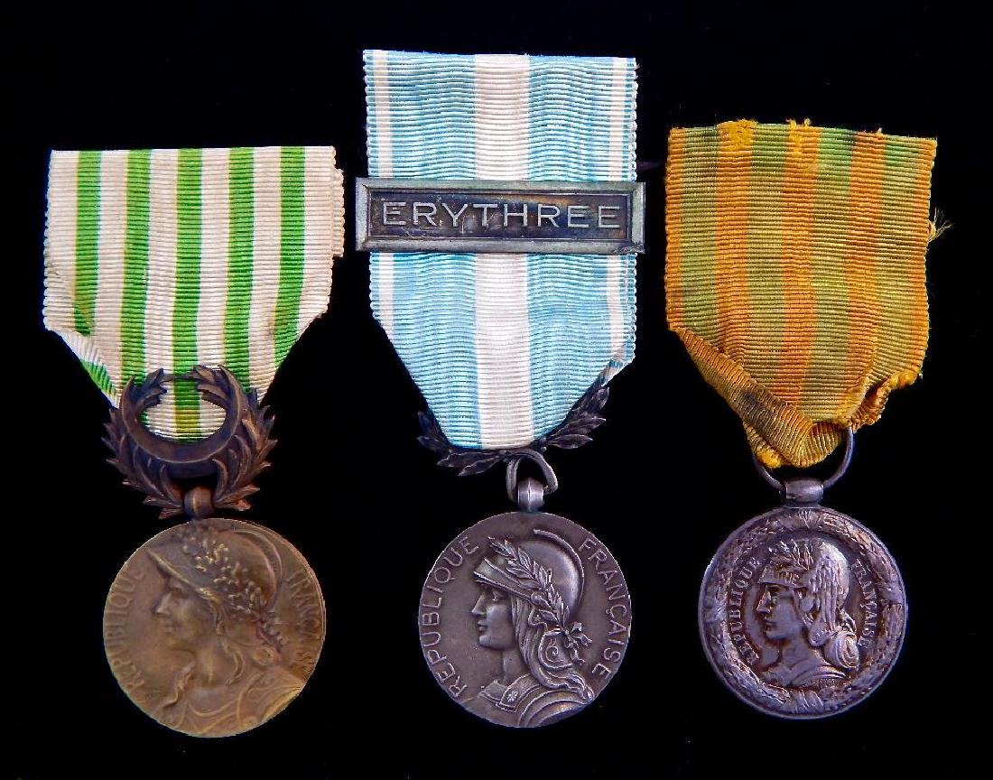 Group of 3 French Campaign Medals