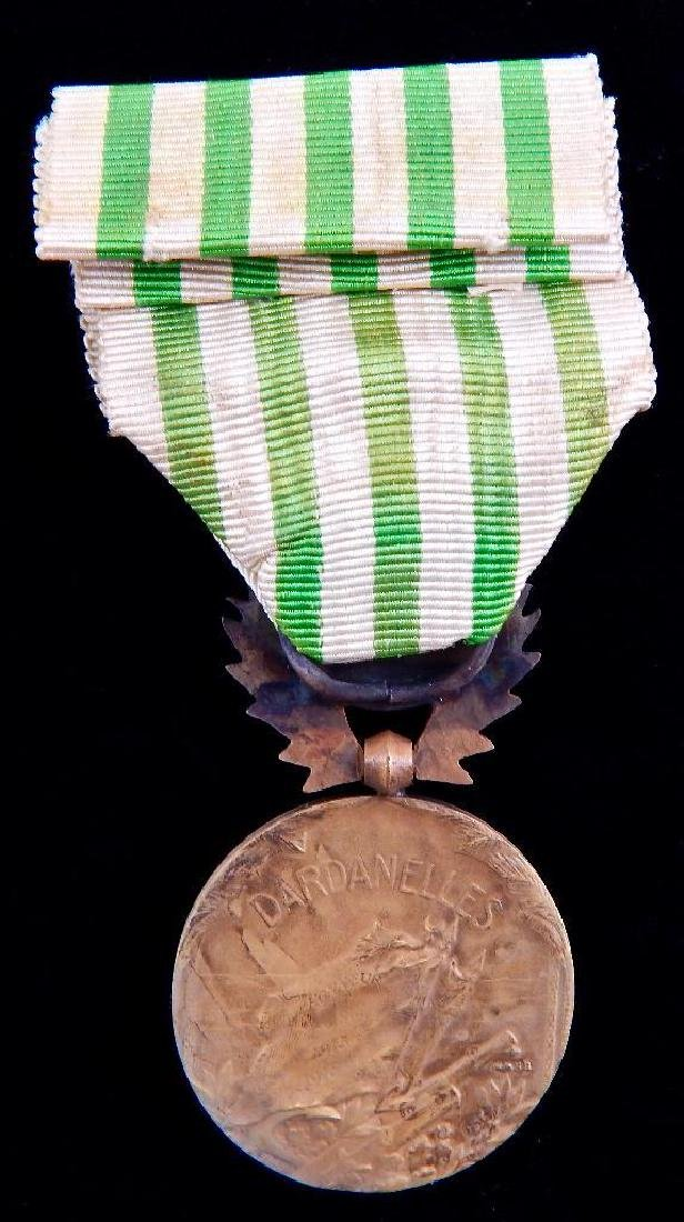 Group of 3 French Campaign Medals - 3